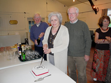 AGM 2011 cutting the cake