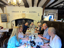 History Society tea in Warwick 2016